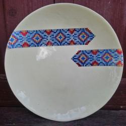 Ceramiczne patery z motywem...